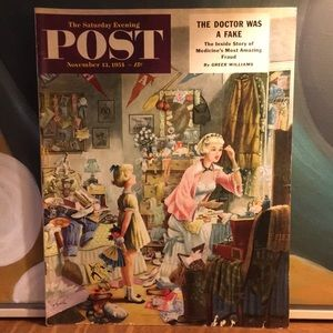 Vintage Other - November 13, 1954 The Saturday Evening Post